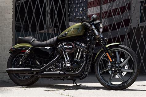 2016 Harley-davidson Iron 883 Receives Suspension Upgrades