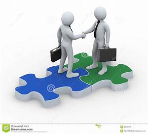 Puzzle clipart business collaboration - Pencil and in ...