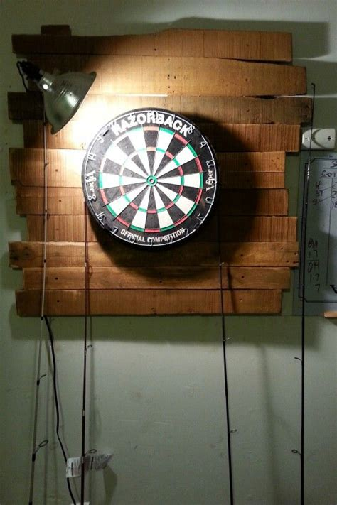 dart board backboard ideas  pinterest