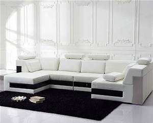 modern white leather sectional sofa tos fy796 With sectional sofa nz