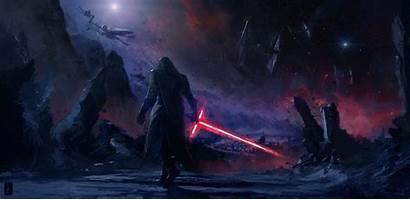 Ren Kylo Wars Star Awakens Force Episode