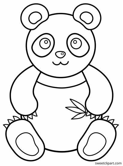 Panda Colorir Desenhos Urso Coloring Animais Imprimir