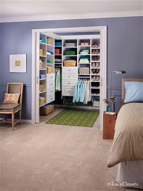 closet organizers for your bedroom by easyclosets