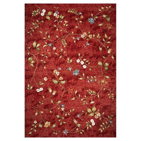 Shop KAS Rugs Serenity Red Rectangular Indoor/Outdoor