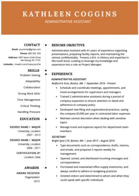 Don't hesitate and try the free download right now. 40+ Modern Resume Templates | Free to Download | Resume Genius