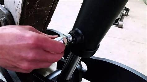 showtime fabrication bobcat   hydraulic thumb installation youtube
