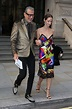 Jeff Goldblum, 65, and wife Emilie, 35, put on a cosy ...