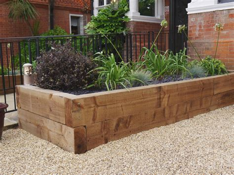 Softwood Sleepers by New Softwood Railway Sleepers Paving