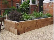 New Softwood Railway Sleepers – Natural Stone Paving