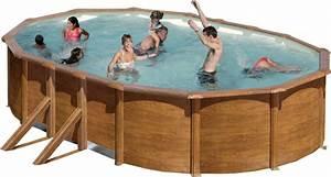 Pool 120 Tief : stahlwandbecken set achteck oval 120cm tief ovalbecken set pool schwimmbecken ~ One.caynefoto.club Haus und Dekorationen