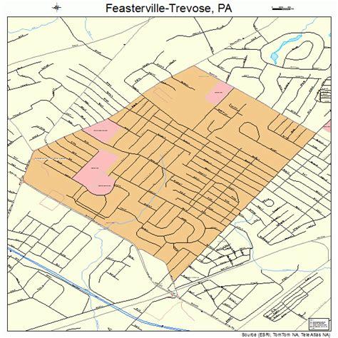 Feasterville Flooring America Feasterville Trevose Pa feasterville trevose pennsylvania map 4225520