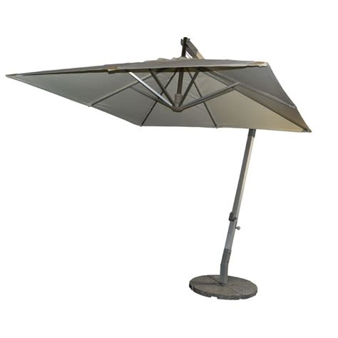 small square aluminum hanging umbrella celi outdoor patio