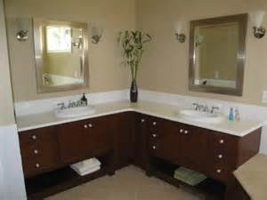 l shaped bathroom vanity this is more about the concept