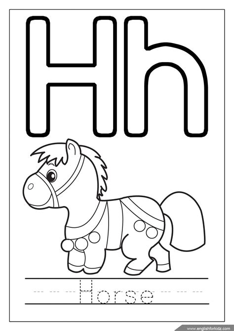coloring letters letter h coloring beautiful alphabet page with grig3 org