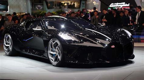 Bugatti brings a $12.5 million bespoke car to geneva. Bugatti La Voiture Noire--a $12.4 million celebration of ...