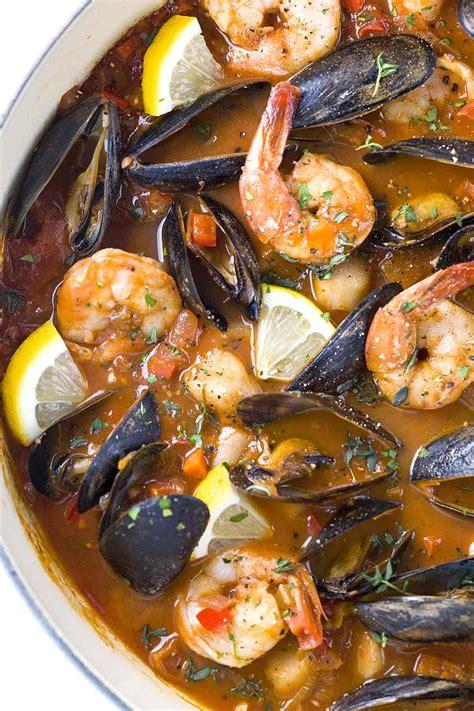 san francisco style seafood cioppino recipe jessica gavin