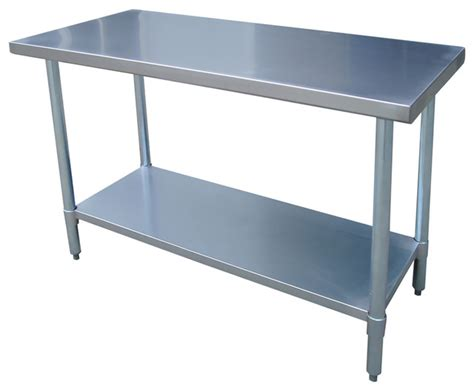 stainless steel kitchen island table sportsman series kitchen island stainless steel work table 24x48 inches modern drafting