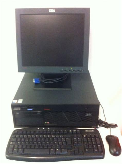 ordinateurs de bureau ordinateur de bureau complet ibm m51 ecran lcd 17