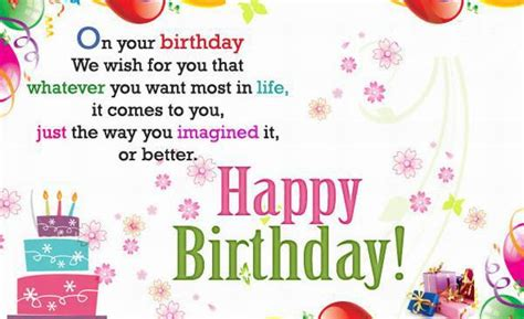 wish you a happy birthday words texted wishes card