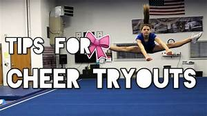 How To Make Your Cheer Team Tryout Tips Youtube