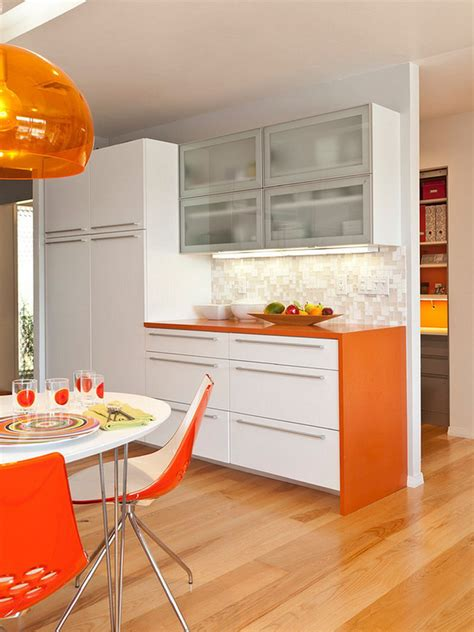 kitchen design orange plan de travail cuisine de couleur fa 231 on de rafra 238 chir l 1294
