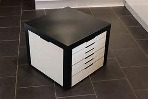Table Transformable Ikea : lack table with lego storage drawers ikea hackers ~ Teatrodelosmanantiales.com Idées de Décoration