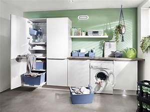 Schränke Für Hauswirtschaftsraum : laundry area hailo einbautechnik ~ Buech-reservation.com Haus und Dekorationen