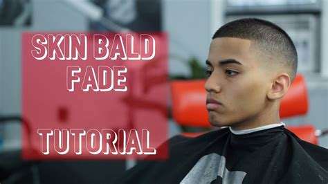 crew cut short mens skin bald fade hair tutorial