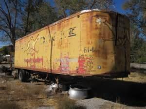 Old Semi Truck Trailers