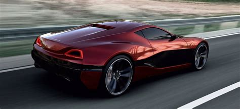 Rimac Concept_one Shows How Electric Cars Can Be