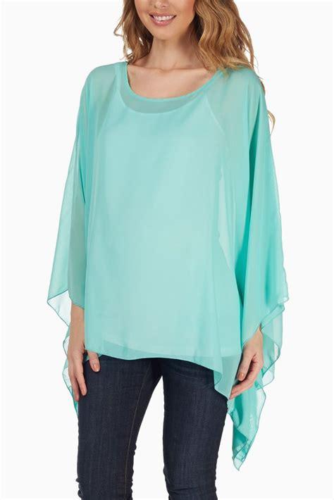 womens green blouse mint green chiffon blouse 39 s lace blouses
