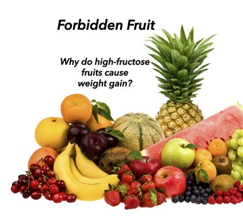 Forbidden Fruits, Which Ones Make You Fat? Jane's