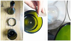 Comment Couper Du Verre : diy comment couper une bouteille en verre facilement ~ Preciouscoupons.com Idées de Décoration