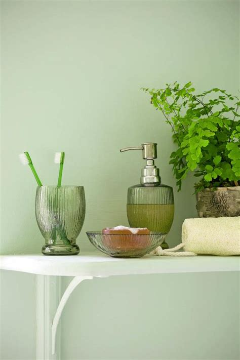Green Glass Bath Accessories by Prints And Designs For Your Home Style