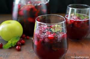 non alcoholic cranberry punch recipe