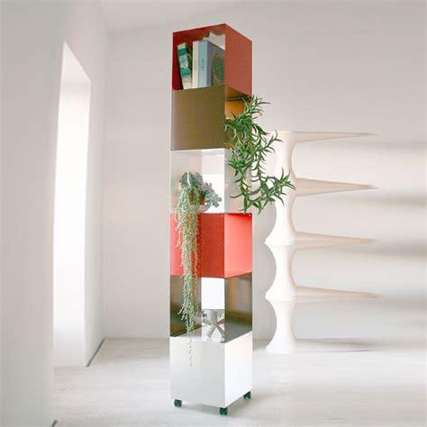 colonne rangement bureau bibliothèques design étagères modulables cubes de