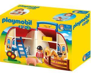 ferme transportable playmobil playmobil ferme transportable 6778 au meilleur prix sur idealo fr