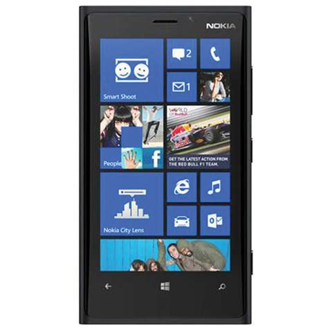 nokia lumia 920 rm 820 32gb smartphone unlocked black 0023n22