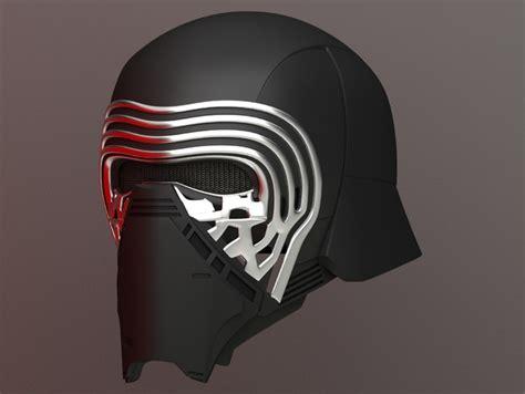 Kylo Ren Helmet By Jtm Thingiverse