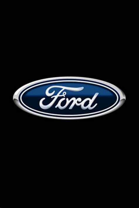 ford logo iphone wallpaper hd