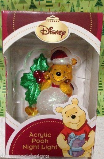 winnie the pooh holiday light winnie the pooh light disney acrylic nursery baby child gift nib lights
