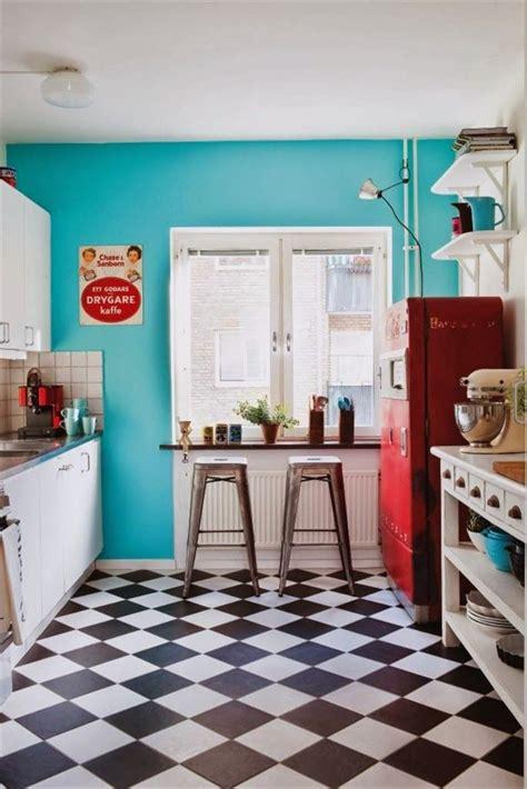 elements    creating  retro kitchen