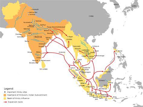 indonesia map india