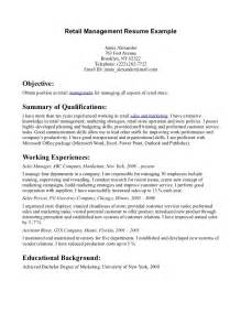 Sle Resume For In Retail by Retail Week Resume Sales Retail Lewesmr