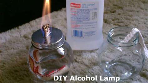 "DIY Alcohol Lamp   w/quick ""stove conversion""   burns"