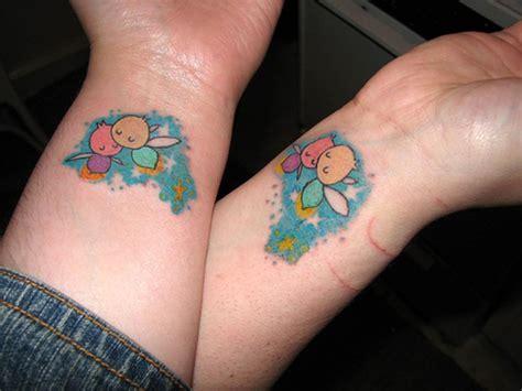 awesome matching wrist tattoos designs