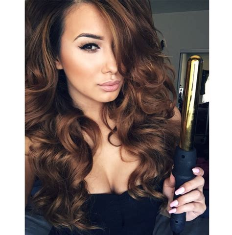 32mm BOMBAY GOLD CURLING WAND ? BOMBAY HAIR