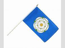 Yorkshire new Hand Waving Flag 12x18