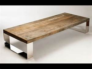 Metal And Woods : wood and metal coffee table how to make a wood and metal ~ Melissatoandfro.com Idées de Décoration