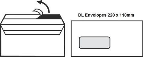 envelope size guide dl    envelopes octopus
